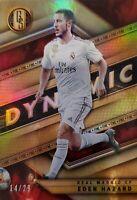 2019-20 Panini Gold Standard Eden Hazard Dynamic Card 14/29 Real Madrid
