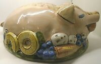 Louisville Stoneware Ceramic PIG (Cover Only) for a Casserole Serving Dish