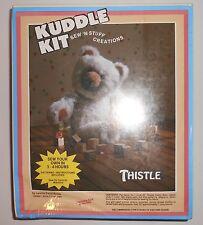Teddy Bear Sewing Kit Kuddle Kit Thistle by Borg 1984 Sealed Sew N' Stuff