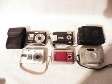 Bundle 4x Digital Cameras AGFA Samsung Canon APS Job Lot SOME TESTED WORKING
