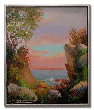 CHARLES BENDTSEN / VIBRANT SUNSET - Original Art Oil Painting