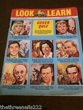 LOOK and LEARN # 230 - COVER QUIZ - JUNE 11 1966