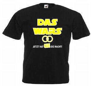 Junggesellenabschied T-Shirt Das wars - jetzt hat sie die Macht! JGA