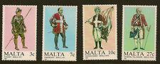 Malta: 1987 MALTESE Uniforms Series 1 SG 802-5 Unmounted MINT