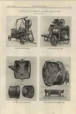 1920 American Concrete Mixers Archer Austin Portable Drums