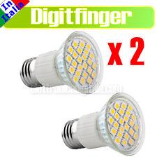 DUE Lampada LAMPADINA 24 LED Luce calda 5W come 40W E27 370 lumen SMD 5050