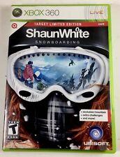 Shaun White Snowboarding (Microsoft Xbox 360, 2008) Target Limited Edition