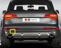 AUDI Q7 4L 10-16 NEW GENUINE REAR BUMPER N/S LEFT TOW HOOK COVER CAP 4L0807449E