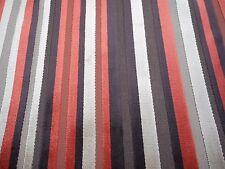 Harlequin Upholstery Fabric 'Vermont Napa' 3.2 METRES (320cm) Striped Cut Velvet
