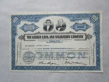 The Lehigh Coal And Navigation Company   A Pennsylvania Corporation