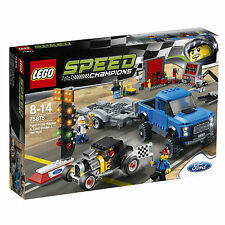 LEGO® Speed Champions 75875 Ford F-150 Raptor & Ford Model A Hot Rod NEU OVP NEW