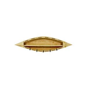 Horizontal Wall Shelf with Hooks