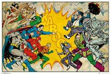 DC Comics : Heroes vs Villains - Maxi Poster 91.5cm x 61cm new and sealed