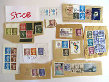 Misc Lot of British England Great Britain Stamps #St-08