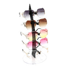 5 Pair Acrylic Sunglasses Glasses Show Rack Counter Display Stand Holder