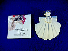 "1988 Margaret Furlong Nib Angel Sea Shell Bisque Porcelain 3"" The Gift"