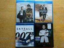 James Bond Collection Craig Casino Royale Skyfall Spectre Quantum Of Solace Blu