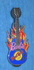 HARD ROCK CAFE 2005 Rock Star Barbie III - Flame Guitar Pin (no. 30159)
