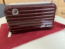 EVA AIR Rimowa Amenity Kit Case Red New