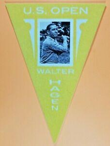 Walter Hagen 2012 Panini Golden Age Ferguson Bakery Pennants Yellow #12