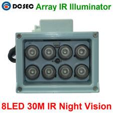 Array IR illuminator infrared lamp Led Light Outdoor Waterproof for CCTV camera