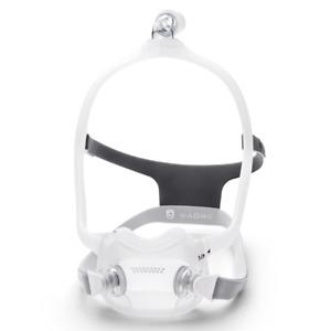 Philips DreamWear Full Face Maske  Mund Nasen Maske, CPAP, mit Kopfband