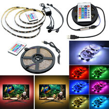 USB Powered LED Strip Light RGB Multi Color TV Backlight Lighting+Remote Control