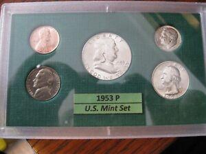 1953 P US Mint Set Brilliant Uncirculated!