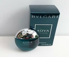 Bvlgari Aqva Pour Homme Eau de Toilette mini for men, 5ml, Brand New in Box