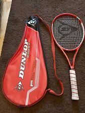 Dunlop  F2.70 Graphite Tennis Racket + Case 100 Headsize 25-29Kgs String Tension