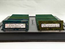 LOT 250 SAMSUNG HYNIX MICRON 1GB DDR3 12800 10600 8500 SODIMM LAPTOP MEMORY RAM