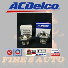 AC Delco 185 & 180 Degree Thermostat Front & Rear Kit Pair for GM Pickup Duramax