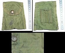 F  Pochette brelage US Army FIRST AID Pouch Compass type VIETNAM avec clip ALICE
