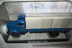 Premium ClassiXXs camion Mercedes L3500 plateau bâché 1/43 Neuf Boite 12450