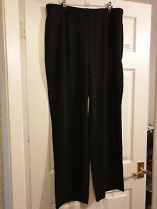 Laura Ashley Black Trousers - Size 18