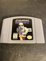 Star Wars Shadows Of The Empire - Nintendo N64 Game - Tested - Working Original!