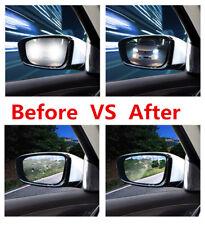 Pair Car Anti Fog Nano Coating Rainproof Rear View Mirror Window Protective Film