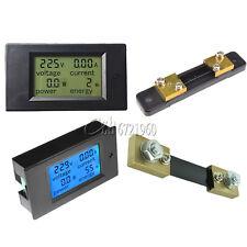 Acdc 65100v 2050100a Lcd Combo Panel Display Volt Amp Power Watt Meter
