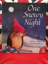 One Snowy Night by M Christina Butler (Paperback 2016) New Book