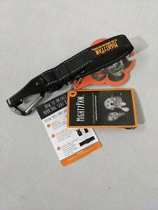 DOG SEAT BELT Safety Swivel Attachment Carabiner Latch Bar Black MIGHTY PAW New