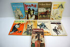 Vintage Lot of 9 Children's Book Scholastic Book Services - Horses & Dogs