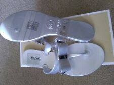michael kors jelly flipflop grey size 7 new ( tags stain on)