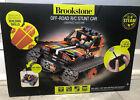 Brookstone Remote Control Stunt Car for Kids RC Car Building Set