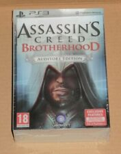 Assassins Creed Brotherhood Auditore Edition PS3 PAL UK Limited Collectors New