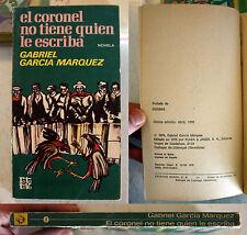 El Coronel No Tiene Quien Le Escriba No One Writes to the Colonel Marquez