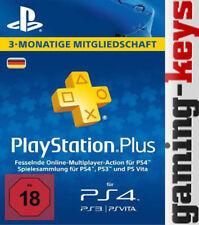 Sony PlayStation Plus Live Netzwerk Karte für 90 Tage (9144977)