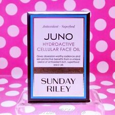 SUNDAY RILEY JUNO HYDROACTIVE CELLULAR FACE OIL  1 OZ FULL SIZE! NEW! BOX!FRESH!