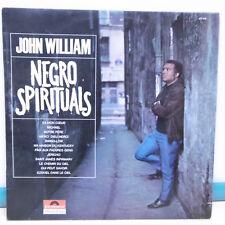 """33T John WILLIAM Vinyl LP 12"""" NEGRO SPIRITUALS - VA MON COEUR - POLYDOR 657 035"""