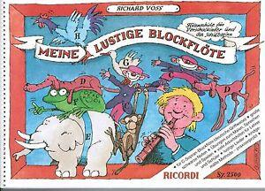Blockflöte Noten Schule : Meine lustige Blockflöte 1 (dt. Griffweise) ANFÄNGER