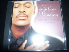 Luther Vandross ‎– One Night With You The Best Of Love Volume 2 - CD – Like New